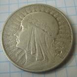 Польша 10 злотых 1932 года.Ядвига., фото №12