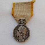 """Франция. Почетная медаль """"За спортивные заслуги""""., фото №2"""