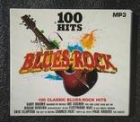 """Кращі класичні блюз-рок-хіти. Серія """"100 HITS"""". CD Blues-Rock, фото №2"""