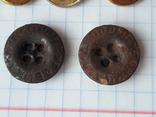 Пуговицы СА к амуниции, промвоенхоз, мосштамп разных годов, 37 шт, фото №3