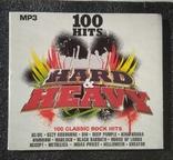 """Кращі класичні рок-хіти. Серія """"100 HITS"""". CD Hard - Heavy, фото №2"""