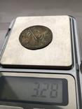 Сребреник Святополк (ПЕТРОС) крестильный 1015-1019гг копия, фото №3