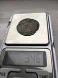 Сребреник Святополк Окаянный 1015-1019гг. копия, фото №3