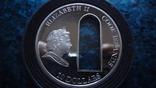 10 долларов 2010 о-ва Кука Окно серебро, фото №6