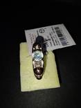 Гарнитур кольцо и серьги, фото №13