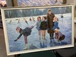 Картина СССР Тренировка на льду. Динамо, фото №2