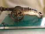 Пушка подариная генерал-лейтинанту (начальнику военного училища), фото №5