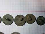 Пуговицы орел на топорах серебро, гренада, 9, якорь и др., фото №13