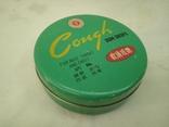 Баночка жевательные леденцы Cough gum drops Китай 80-х годов, фото №2