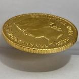 4 песо. 1868. Изабелла II. Филиппины (золото 875, вес 6,71 г), фото №8