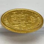 4 песо. 1868. Изабелла II. Филиппины (золото 875, вес 6,71 г), фото №11