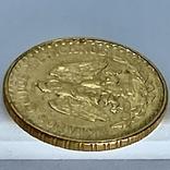 2 песо. 1945. Мексика (золото 900, вес 1,68 г), фото №10