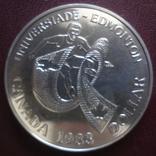 Доллар 1983 Канада серебро (8.5.5), фото №2