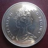 Доллар 1983 Канада серебро (8.5.5), фото №3