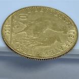 """10 франков. 1900. """"Петух"""" Франция (золото 900, вес 3,23 г), фото №9"""