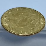 """10 франков. 1900. """"Петух"""" Франция (золото 900, вес 3,23 г), фото №10"""