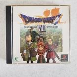 Dragon Quest VII (PS1, NTSC-J)2 discs OBI+POST CART, фото №2