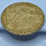 20 франков. 1905. Франция. Петух (золото 900, вес 6,45 г), фото №9