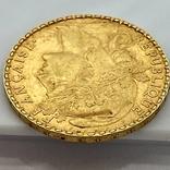 20 франков. 1905. Франция. Петух (золото 900, вес 6,45 г), фото №10