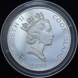 1 Доллар 1998 Чемпионат Мира по Футболу во Франции, Острова Кука, фото №3