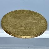 20 франков. 1906. Петух. Франция (золото 900, вес 6,46 г), фото №12