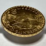 20 франков. 1907. Петух. Франция (золото 900, вес 6,46 г), фото №11