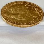 20 франков. 1909. Петух. Франция (золото 900, вес 6,45 г), фото №10