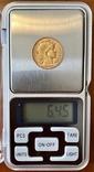 20 франков. 1909. Петух. Франция (золото 900, вес 6,45 г), фото №12