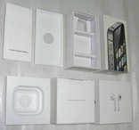 IPhone 4S + AirPods коробки Оригинал, фото №4
