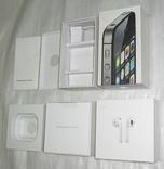 IPhone 4S + AirPods коробки Оригинал, фото №5