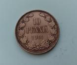 10 пенні 1914 Фінляндія, фото №2