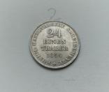 1/24 талера 1854 Ганновер, фото №2