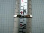 Новое Серебряное Кольцо Бабочка Камни Фианиты Размер 19.25 Серебро 925 проба 872, фото №5