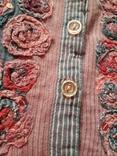 Женская вышитая рубаха Peruna. Индия. Ручная работа, фото №6