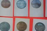 Набор открыток Города Европы на монетах 16-18 веков 16 шт 1973 г, фото №4