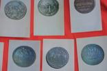 Набор открыток Города Европы на монетах 16-18 веков 16 шт 1973 г, фото №5