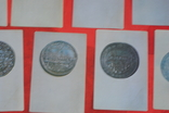 Набор открыток Города Европы на монетах 16-18 веков 16 шт 1973 г, фото №6