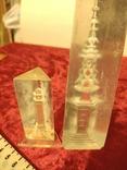 Два сувенира из плексигласа. Один без основания., фото №13