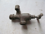 Античный латунный двойной смеситель, фото №2