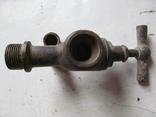 Античный латунный двойной смеситель, фото №3