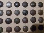 Коллекция номерных пуговиц с 1 по 40 полк, фото №4