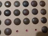Коллекция номерных пуговиц с 1 по 40 полк, фото №5