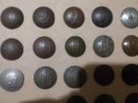 Коллекция номерных пуговиц с 1 по 40 полк, фото №7