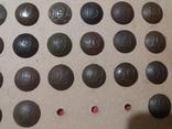 Коллекция номерных пуговиц с 1 по 40 полк, фото №8