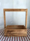 Деревянная корзинка корзина дерево, фото №3