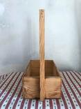 Деревянная корзинка корзина дерево, фото №4