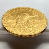20 франков. 1912. Петух. Франция (золото 900, вес 6,47 г), фото №11