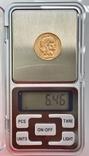 """20 франков. 1913. """"Петух"""". Франция (золото 900, вес 6,46 г), фото №12"""