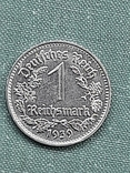 1 рейхсмарка 1939 Германия / Третий рейх буква В, фото №3