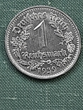 1 рейхсмарка 1939 Германия / Третий рейх буква В, фото №13